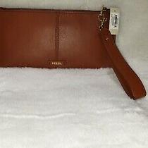 Fossil Liv Wristlet Clutch  Leather W/detachable Strap Swl2337210 78 New Photo
