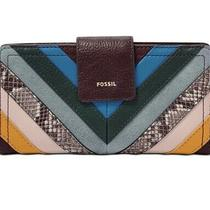 Fossil Logan Rfid Tab Women's Wallet Clutch - Created for Macys Msrp  78 Photo
