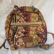 Fossil Long Live Vintage Backpack. Photo