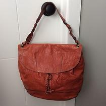 Fossil Long Live Vintage Big Cross Body Genuine Leather Bag With Original Key Photo