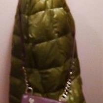 Fossil Long Live Vintage Brown & Green Leather Satchel Shoulder Crossbody Bag  Photo
