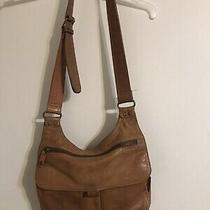 Fossil Long Live Vintage Brown Leather Shoulder Crossbody Messenger Bag  Photo
