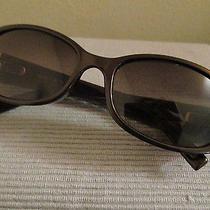 Fossil Long Live Vintage Delta Brown Sunglasses W/rhinestone Euc Photo