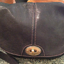 Fossil Long Live Vintage Leather Purse - Nice Photo