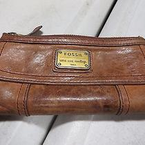 Fossil Long Live Vintage Women's Wallet - Brown Photo