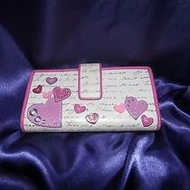 Fossil Love Notes and Hearts Wallet Photo