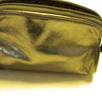 Fossil Macy Cosmetic Case in Metallic Nwt Photo