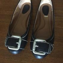Fossil Maddox Ballet Flat Black Leather Size 7 Photo