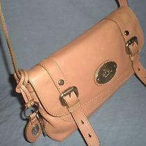 Fossil Maddox Heavy Leather Convertible  Crossbody Messenger/ Clutch Bag Rare  Photo