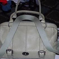 Fossil Maddox Leather Satchel  Photo
