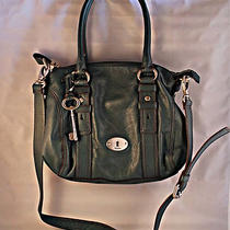 Fossil - Maddox Leather Satchel - Fir Green Photo