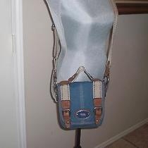 Fossil Maddox  Multi Flap Crossbody Messenger Bag Purse Photo