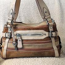 Fossil Maddox Suede Satchel  Photo