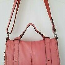 Fossil Maddox Vintage Leather Crossbody Messenger Bag Photo