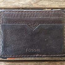 Fossil Magic Wallet for Men Brown Photo
