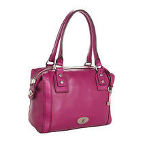 Fossil Marlow Satchel Grape Nwt.  218 Photo