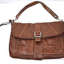 Fossil Medium Leather Shoulder Bag - Beige Photo