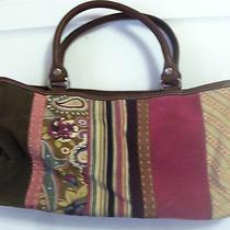 Fossil-Medium Suede Multicolor Handbag Photo