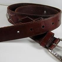 Fossil Men's Belt With 6 Conchos Photo