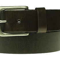 Fossil Men's Berlin Dark Brown Leather Belt Size 34 Photo