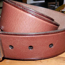 Fossil Men's Brown Leather Belt Medium (33-36) Nwot Photo