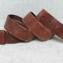 Fossil - Men's Casual Fashion Belt - Brown Leather - Size 36 Photo