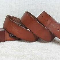 Fossil -  Men's Casual Fashion Belt - Brown Leather - Size 44 Photo