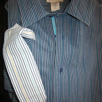 Fossil  Mens Dress Shirt  Xl L/s   Very Nice Shirt Photo