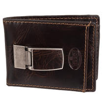 Fossil Men's 'Norton' Brown Leather Bi-Fold Wallet Photo