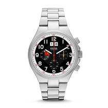 Fossil Men's Qualifier Chronograph Stainless Steel Watch Ch2909 Photo
