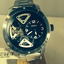 Fossil Men's Watch Nate Twist   Stainless Steel Me1132 Photo