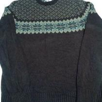 Fossil Men's Winter Sweater Size Large Rn 92638 Photo
