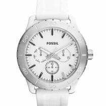 Fossil Men Watch Kipton Multifunction White Subdials Bq1058 115 Free Gift  Photo