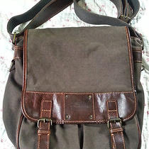Fossil Men/women's Messenger Style Book Bag Photo