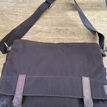 Fossil  Mens Heavyduty Lbriefcase Messenger Bag Photo