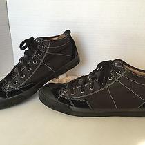 Fossil Mens High Top Black Suede Sneakers Mens Medium D  Photo
