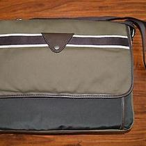 Fossil Mens Lane Messenger Computer Business Bag Olive Photo