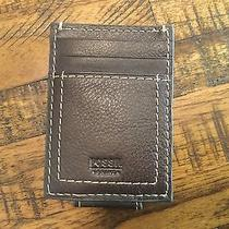 Fossil Mens Leather Wallet Photo