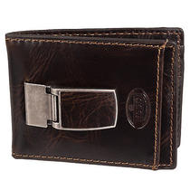 Fossil Mens Norton Id Bifold Brown Leather Wallet Photo