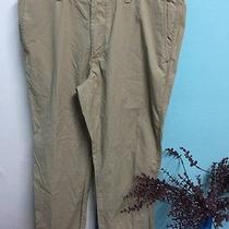 Fossil Mens' Pants Khaki Chinos Size W36xl32 Fletcher Modern Fit Photo
