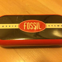 Fossil Metal Sunglasses Case  Photo