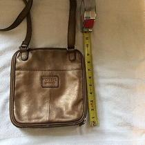 Fossil Metallic Brown Purse Photo