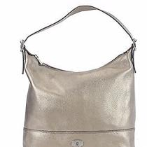 Fossil Metallic Silver Shoulder Bag Hobo  Photo