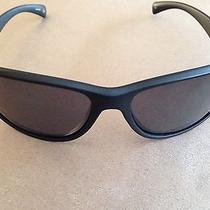Fossil Mil 52 Ps7001 004 Matte Black Frame Gray Lens Sunglasses Photo