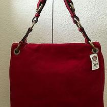 Fossil Modern Cargo Flap in Red Nwt Photo