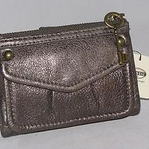 Fossil Modern Cargo Multi Flap Wallet Pewter Swl2757044 Nwt Photo