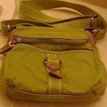 Fossil Modern Vintage Handbag and Wallet Green Photo