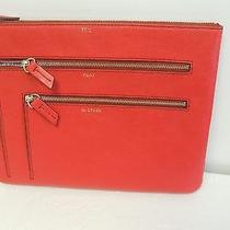 Fossil Multi Zip Case in Scarlet..this That & the Other  Nwt Photo