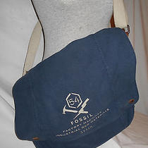 Fossil Navy Large Carrying Bag Photo
