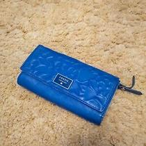 Fossil No 1954 Wallet for Women Blue Leather Photo